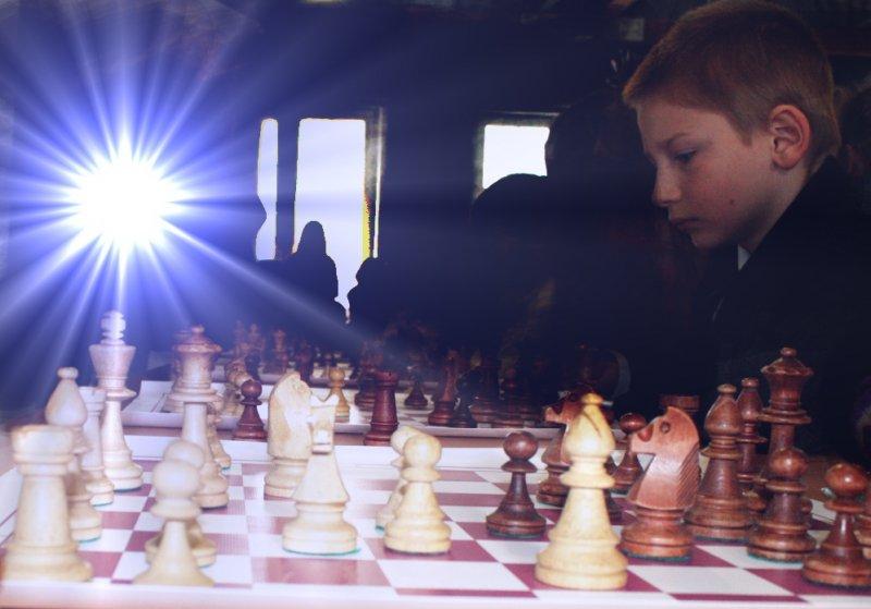 Фото к День защитника отечества отметили сражением за шахматной доской