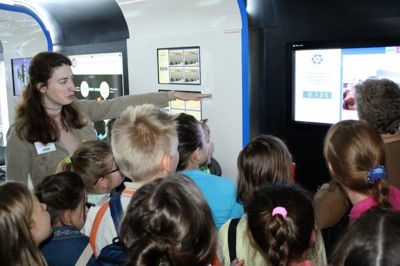 Фото к «Поезд Инноваций» — интересно и школьнику и министру!