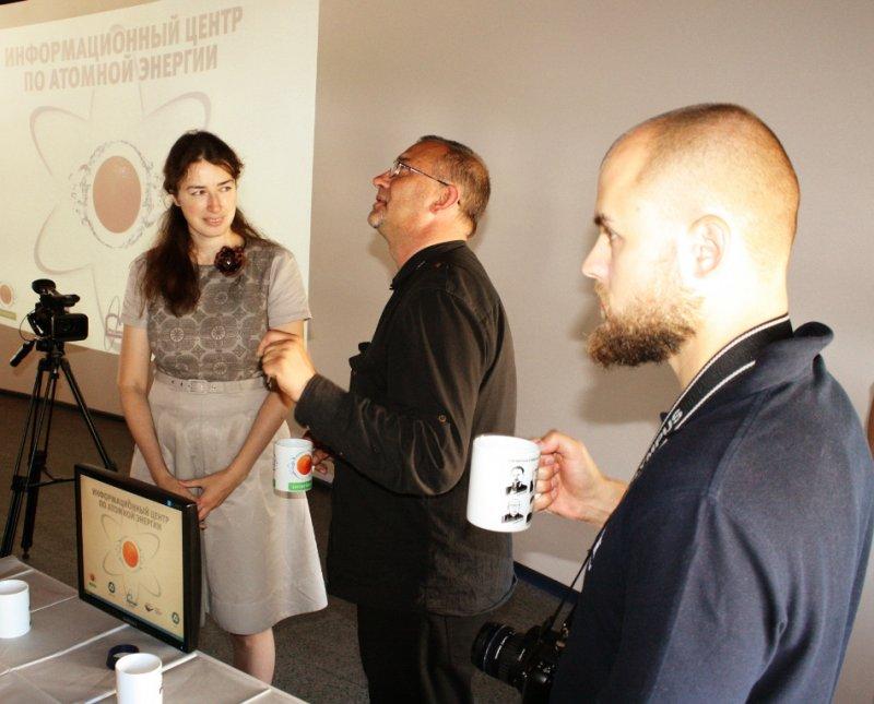 Фото к Информационный центр по атомной энергии в городе Калининграде посетили журналисты из Литвы и Польши.