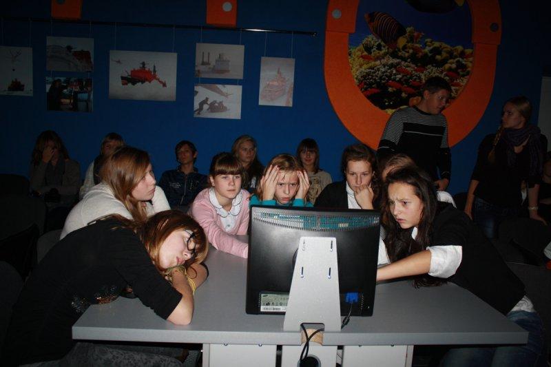Фото к Калининградский Инфоцентр впервые принял группу польских учащихся