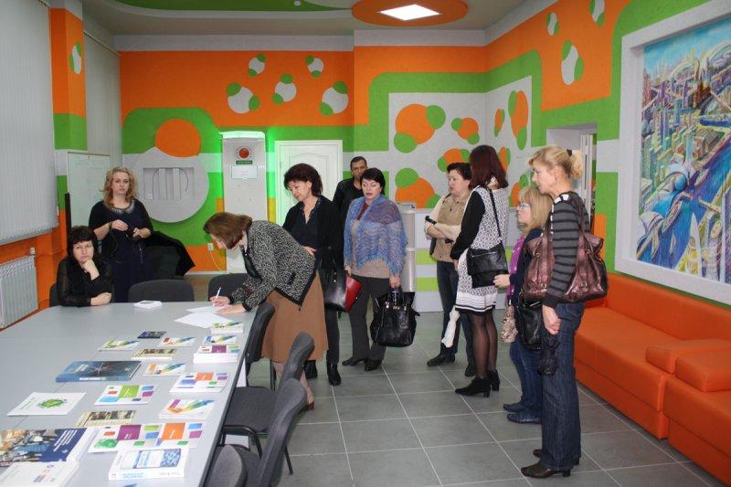 Фото к Калининградский Инфоцентр впервые посетила делегация Министерства культуры Калининградской области