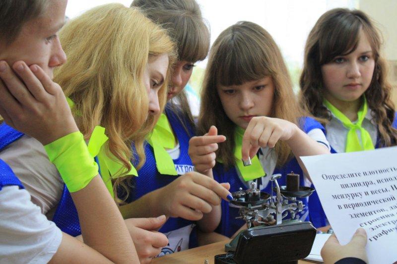 Фото к В МАОУ СОШ № 33 прошел очный этап марафона «Науки будущего»