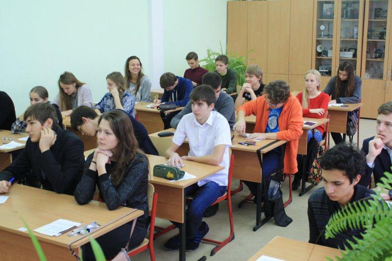 Фото к Калининградцы полюбили математику