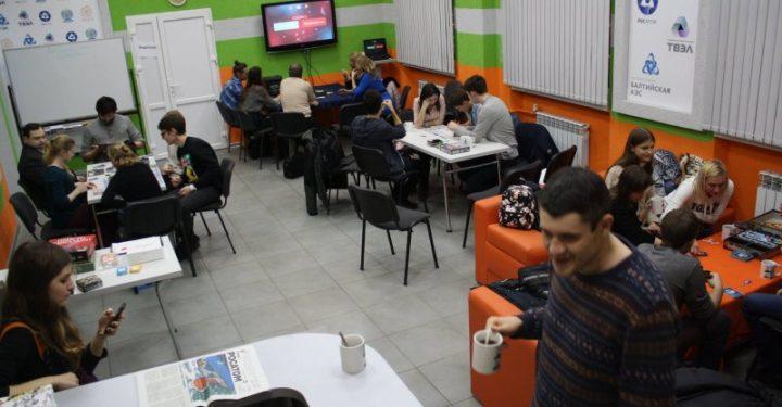 Фото к В Калининграде открылось Научное антикафе
